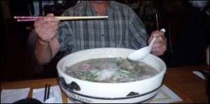 pho challenge at pho garden
