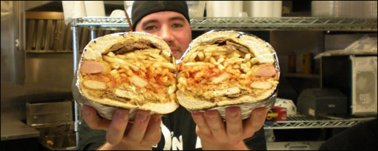 big fat ugly sandwich challenge at fat sandwich company
