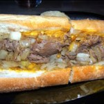 cheesesteak challenge at tony lukes