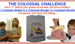 the colossal food challenge