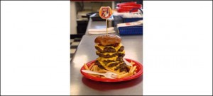 the big a challenge at andys burgers