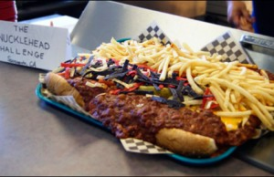 knucklehead hot dog challenge