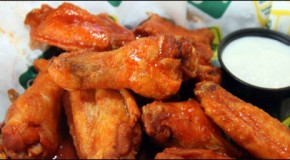 Atomic Hot Wing Challenge at Quaker Steak and Lube