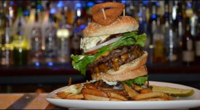 The Disaster Burger Challenge at Rocky Vanders Cafe and Lounge