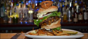 the disaster burger challenge at rocky vanders cafe and lounge prospect heights il