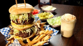 The Whammy Burger Challenge at Burgers and Blues