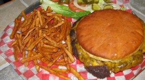 Route 66 Burger Challenge at Cookin From Scratch